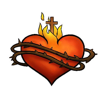 catholic-sacred-heart-drawing