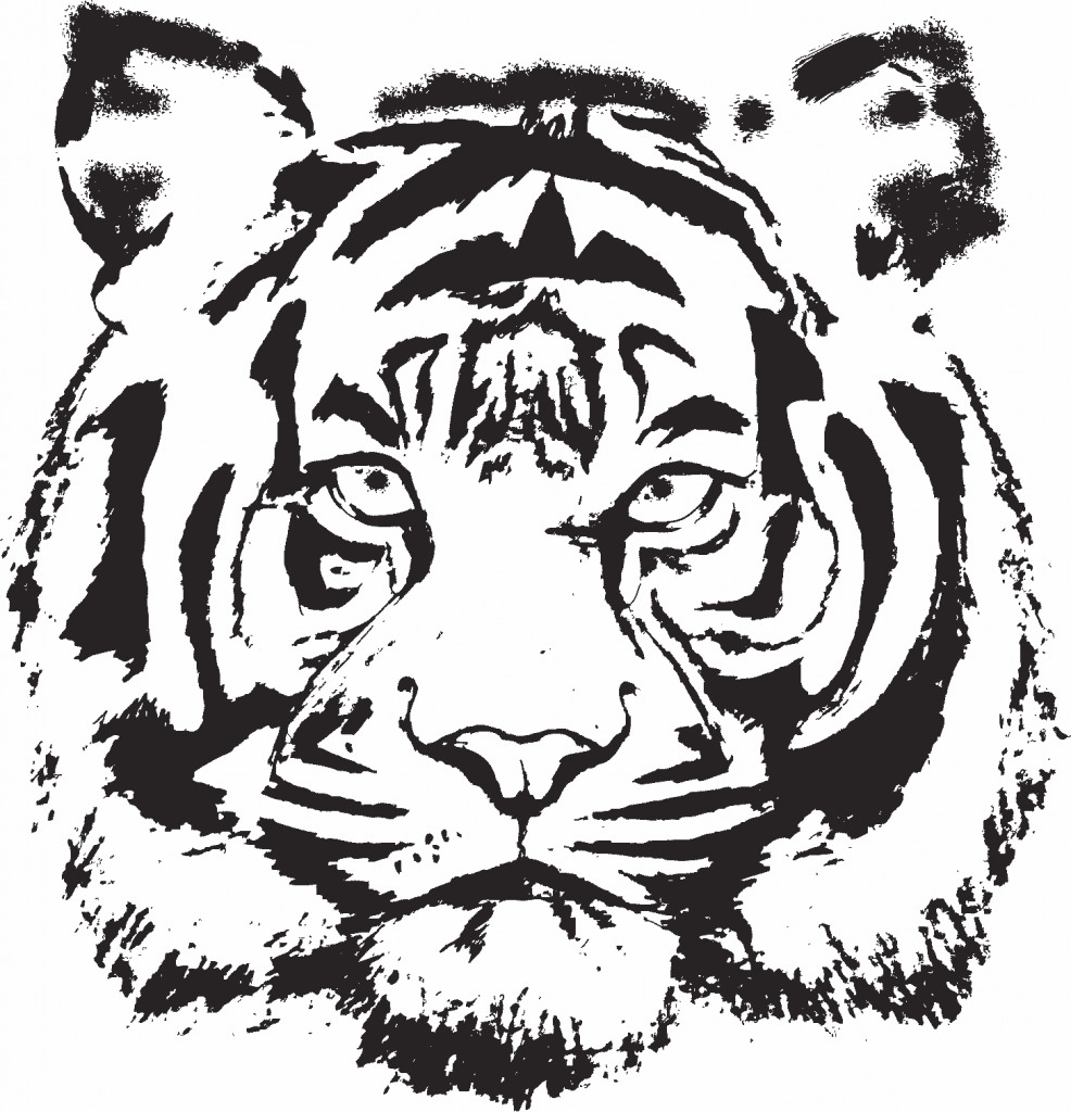 tiger-tattoo-sketch