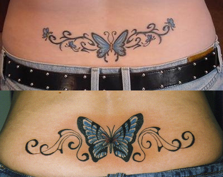 df19ab2b9 77 Beautiful Butterfly Tattoos - Plus Their Meaning & Photos