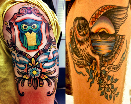 Owl Tattoos - Their Meaning Plus 14 Stunning Examples