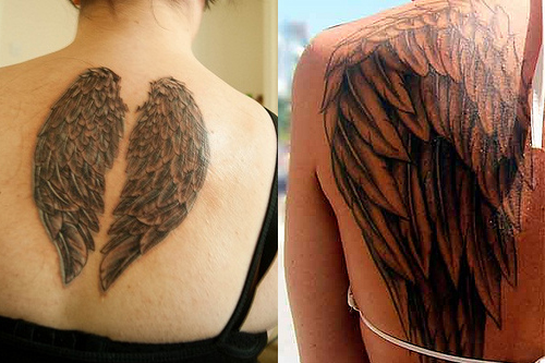 Angel Wing Tattoos - Tattoo Ideas, Designs & Meaning Behind Angel ...