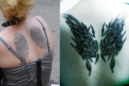 Angel Wing Tattoos Tattoo Ideas Designs Meaning Behind Angel