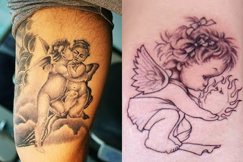 Baby Angel Tattoos Tattoo Designs Ideas Meaning