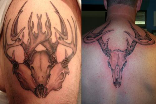 Deer Skull Tattoos