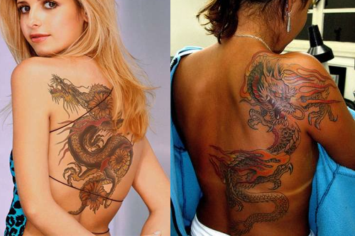 Dragon Tattoos For Women Their Meaning Cool Examples