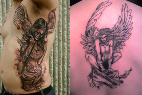 Fallen Angel Tattoos What S Their Meaning Plus Ideas Photos