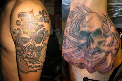 533fe21b9 Skull Tattoos for Men - Ideas & Tattoo Designs - Tattoo Me Now