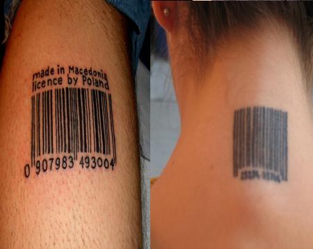 Sklaven Tattoo