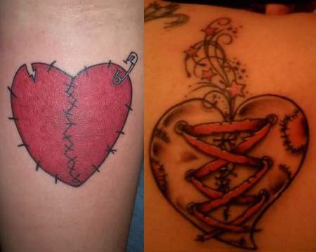 Broken Heart Tattoos Designs Ideas Meaning Tattoo Me Now