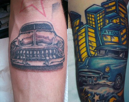 Car Tattoos Designs Ideas Inspiration Tattoo Me Now