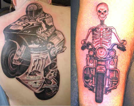 motorcycle tattoos ideas designs pictures tattoo me now rh tattoomenow com motorcycle chain tattoo designs motorcycle helmet tattoo designs