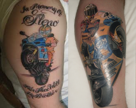 Tatto  on Motorcycle Tattoos   Ideas  Designs   Pictures