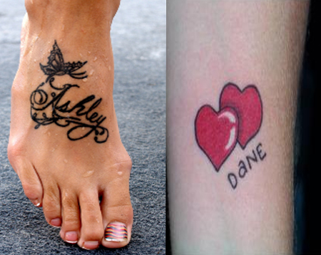 Tatto Lettering on Name Tattoos     Ideas  Font Recommendations   Name Tattoo Designs