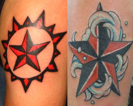 Nautical Star Tattoos | Tattoo Ideas,Designs & Meaning - Tattoo Me Now