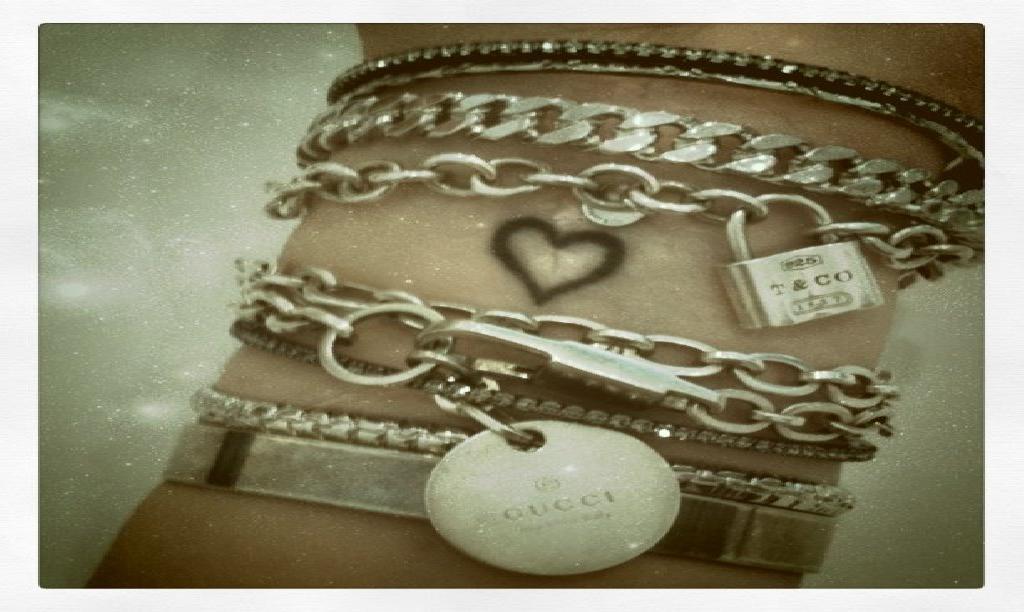bracelet on wrist - photo #34