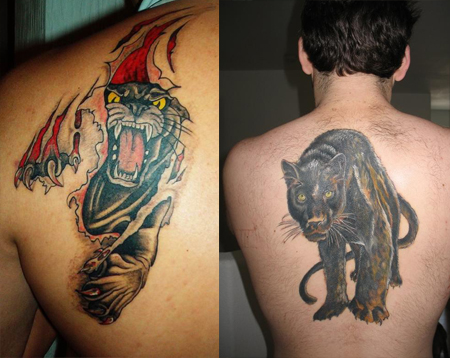 scorpion tattoo design on Panther Tattoos – Designs, Ideas & Meaning