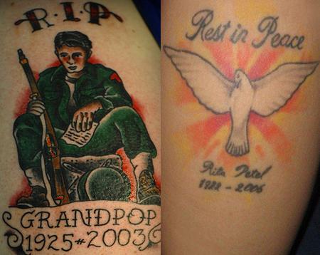 R.I.p Tattoo Designs