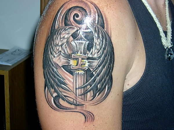 Angel Wing Tattoos On Arm