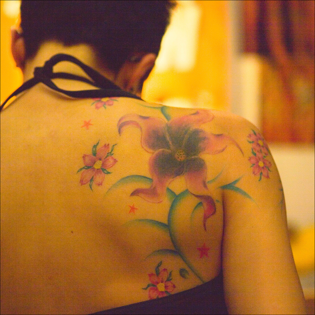 Men S Floral Tattoo: Tattoo Designs And Ideas For Men & Women