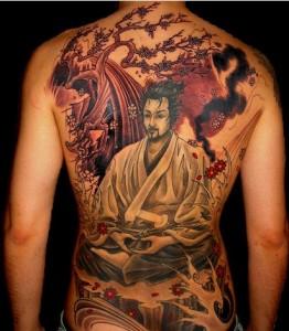 Serene Samurai Tattoo