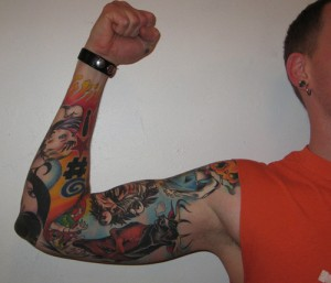 sleeve tattoo 7