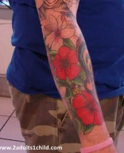 Sleeve Forearm Tattoo