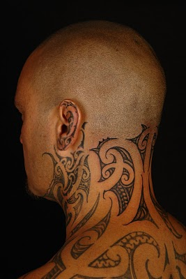 36 Awesome Neck Tattoo...