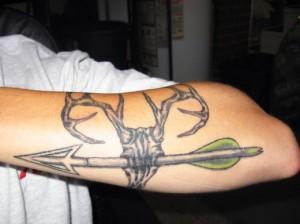 Bow Hunting Tattoo