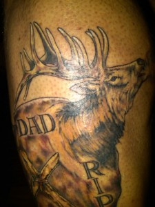 Awesome Hunting Tattoo