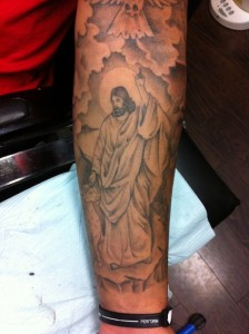 Powerful Jesus Tattoo
