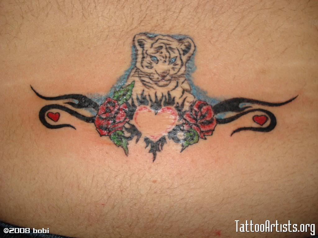 12 White Tiger Tattoos To Model Tattoo Me Now