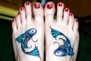 Stunning Pisces Tattoo