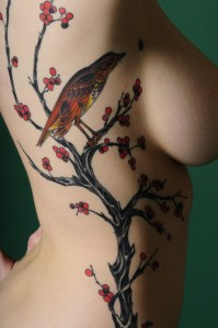 Tree Ribcage Tattoo