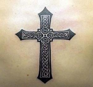 Celtic Cross Faith Tattoo