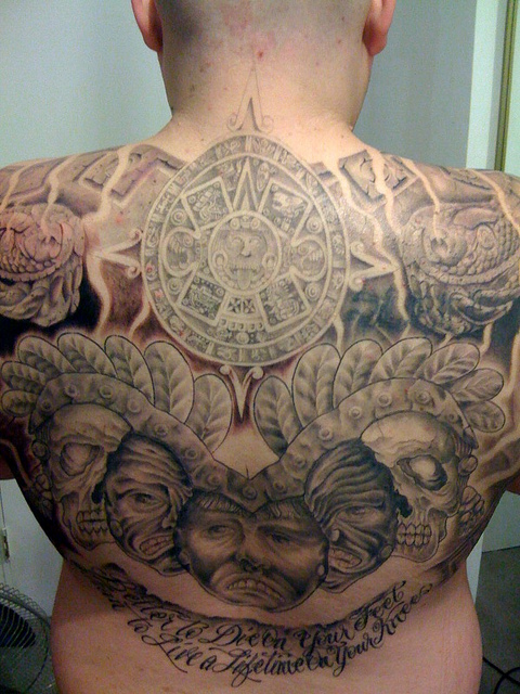 Aztec Tattoos Symbols Cool Examples Designs Their Meaning