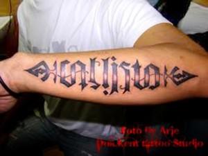 Tribal Forearm Tattoo