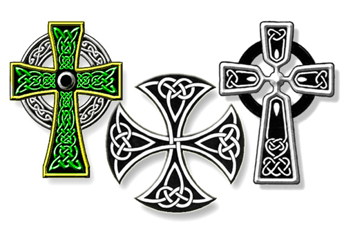 White Pride Tattoos Designs Celtic cross tattoo designs
