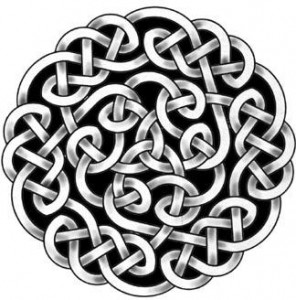 Celtic knot tattoo design 1