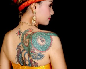 Fabulous Japanese Dragon Tattoo