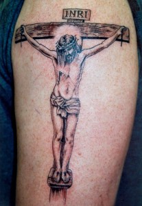 The Crusifixtion of Jesus Tattoo