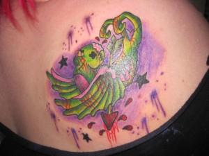 Dead Sparrow tattoo