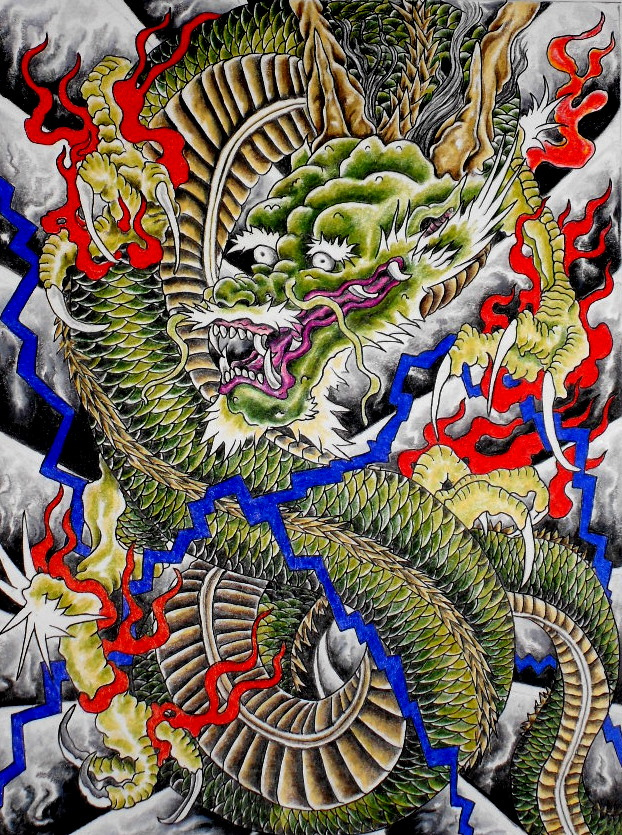 Japanese Dragon: Japanese Dragon Tattoos You Need To Check Out