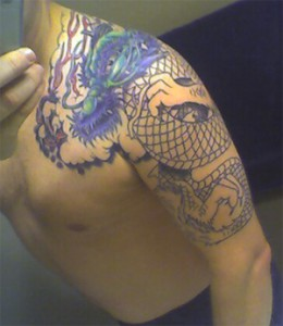 Dragon Tattoo Early Phase
