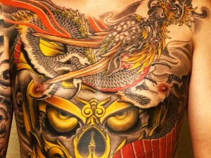 Themed Japanese Dragon Tattoo
