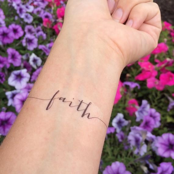 14 Faith Tattoos to get Inspired by - Tattoo Me Now
