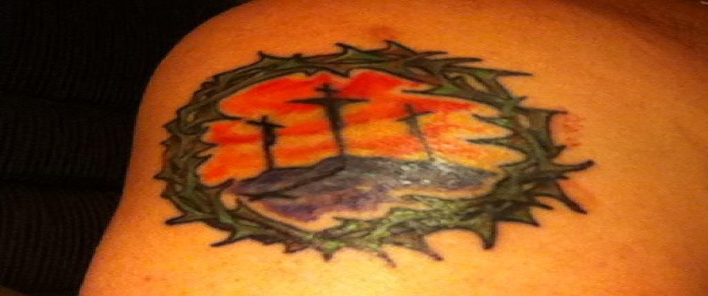 Hill of Crosses Tattoo Calvary Cross Tattoo