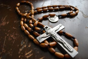 Handmade Rosary with jesus on the cross