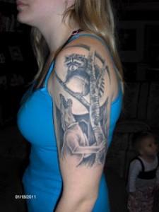 Great Hunting Tattoo