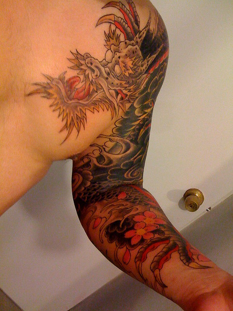 japanese dragon tattoos you need to check out. Black Bedroom Furniture Sets. Home Design Ideas