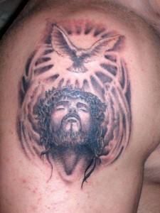 The Baptism Jesus Tattoo